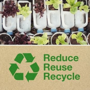 The 3 R's: Reduce, Reuse, Recycle