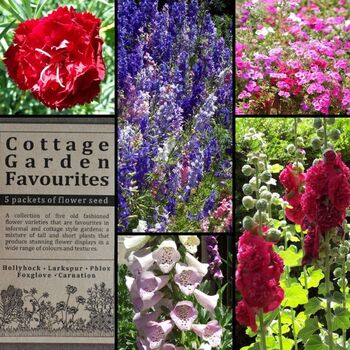 """Cottage Garden Favourites"" Seed Collection"