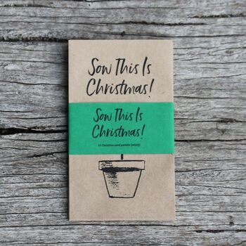 Christmas Seed Envelopes- Empty