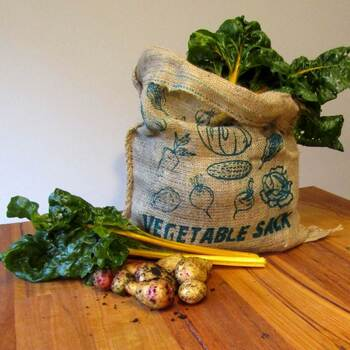 Hessian Vegetable Sack